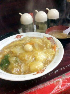 「中華料理 若松」の五目焼きそば