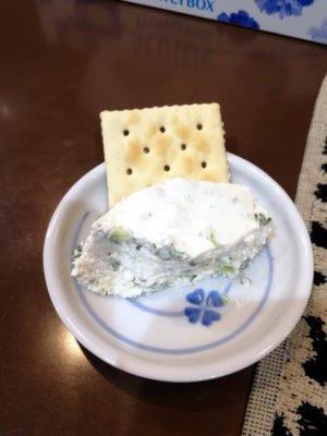 自家製チーズ。